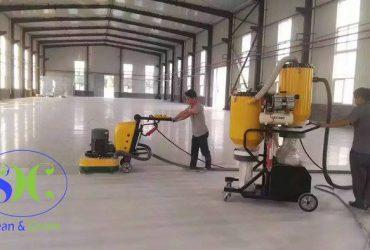 Chà sàn kho, nhà xưởng tại cty GS FIRE SAFETY ( KCN Nhơn Trạch 3 )