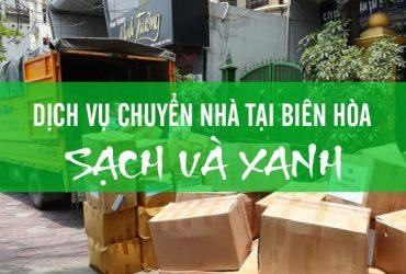 Dịch vụ chuyển nhà tại Biên Hòa