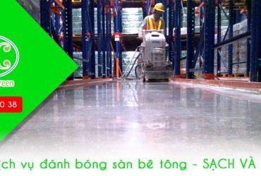 Dịch vụ đánh bóng sàn bê tông uy tín giá rẻ tại Biên Hoà