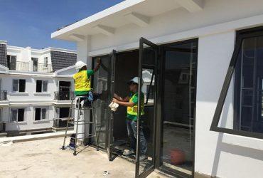 Quy trình vệ sinh nhà ở sau xây dựng