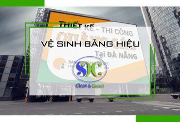 Dịch vụ vệ sinh bảng hiệu tại Biên Hòa – Đồng nai