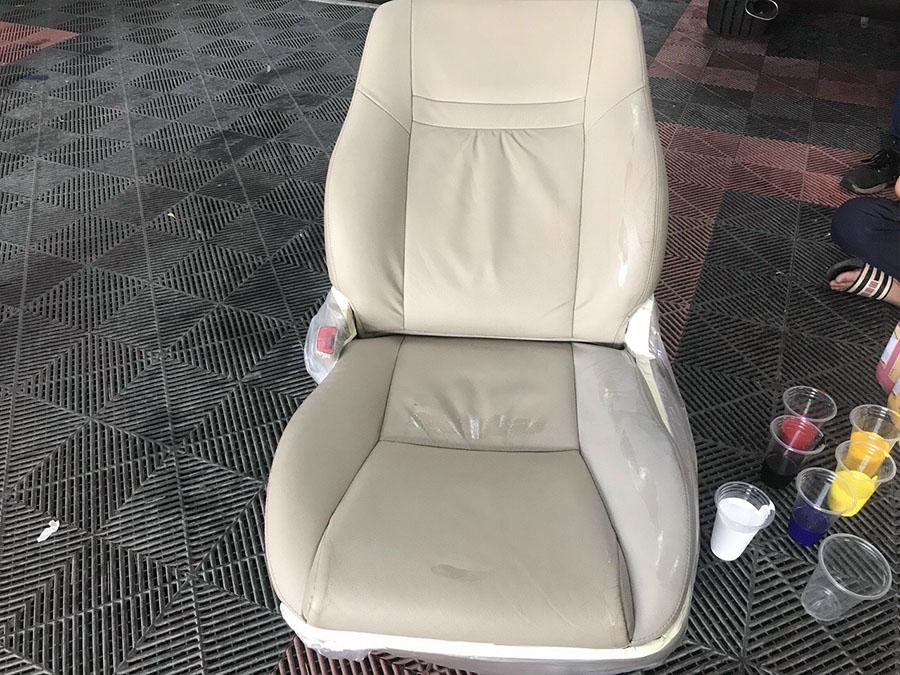 sơn phục hồi ghế xe hơi và ghế da