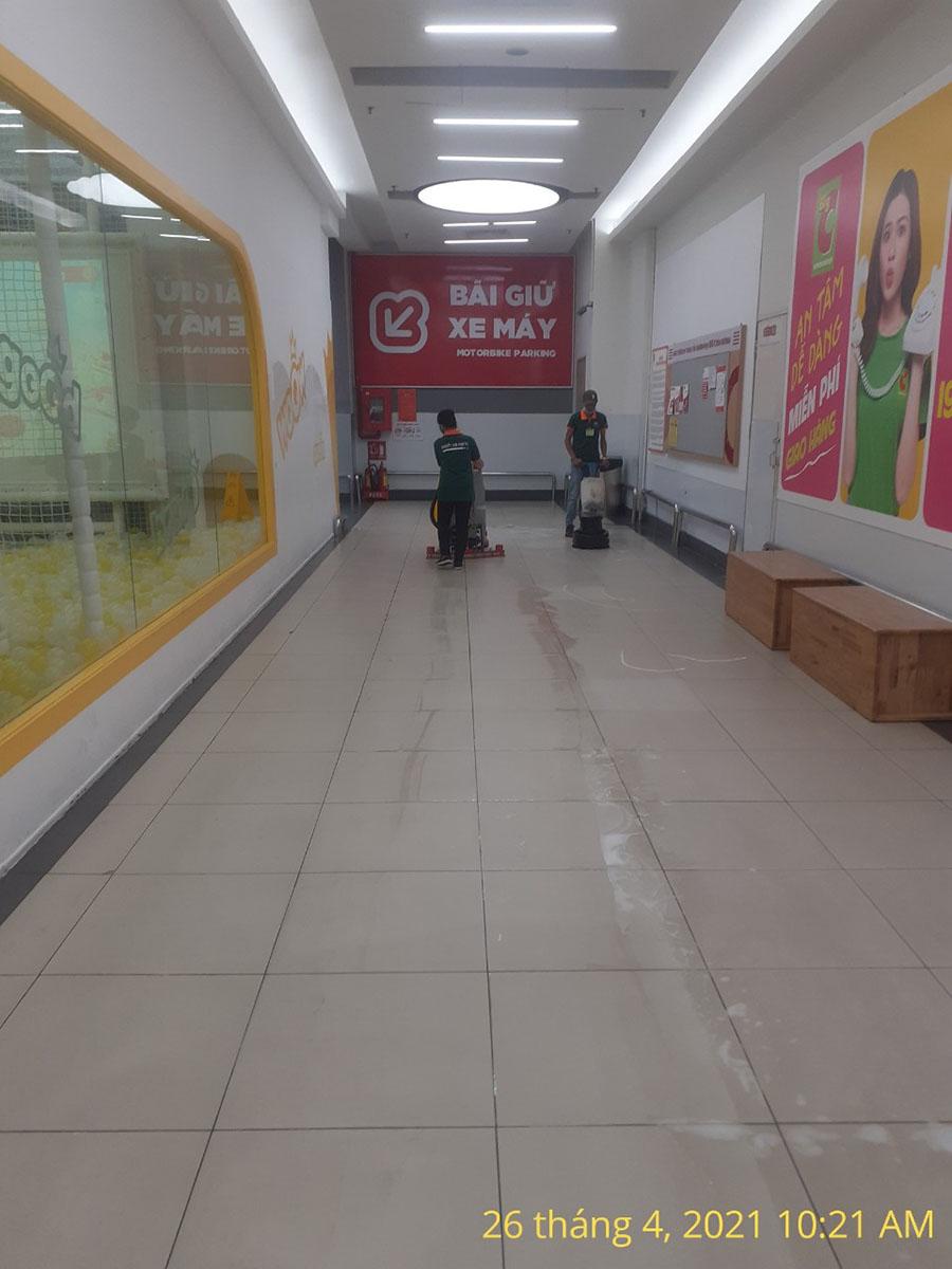cung cấp nhân viên tạp vụ siêu thị BigC