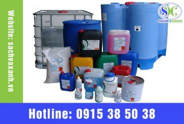 Các loại hóa chất vệ sinh công nghiệp
