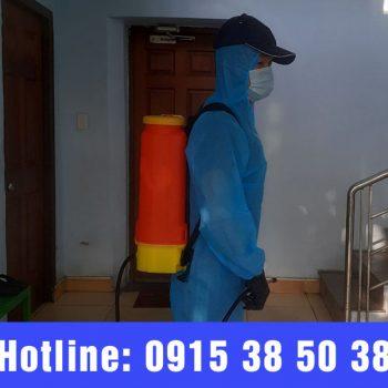 Quy trình phun thuốc diệt côn trùng chuyên nghiệp an toàn