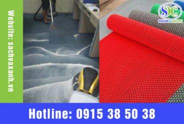 Cách giặt thảm xốp tại nhà đơn giản mà hiệu quả nhất